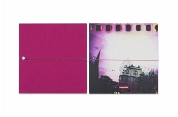 Lomography Photo Accordion - Square 1, pink andphoto 225