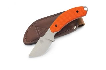Lone Wolf 40030 Mountainside Skinner w/ Plain Edge Blade, Orange 40030-101
