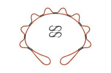 Looprope  5 Ft Orange/black 5LRO-GB-C