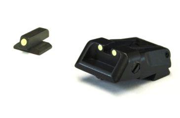 1-LPA Adjustable Kimber Luminova Sight Set