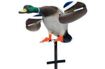 Lucky Duck by Expedite Lucky Junior Drake Mallard, Motorized Spinning Wings 99819
