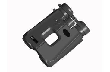 1-Luna Optics 10x42mm Roof Prism Binocular w/ 2200 yds Laser Rangefinder