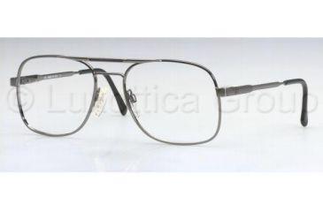 Luxottica CARLOS LU1041 Progressive Prescription Eyeglasses F203-5616 - Gunmetal