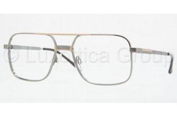 Luxottica LU1154T Progressive Eyeglasses, Silver-Gold Demo Lens Frame / 54 mm Prescription Lenses, 010G-5418
