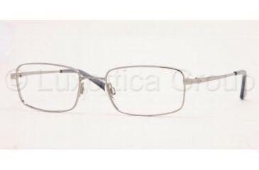 Luxottica LU 6531 Eyeglasses Styles Gunmetal Frame w/Non-Rx 51 mm Diameter Lenses, 3001-5118, Luxottica LU 6531 Eyeglasses Styles Gunmetal Frame w/Non-Rx 51 mm Diameter Lenses