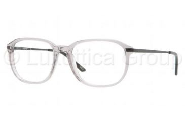 Luxottica LU3209 Progressive Prescription Eyeglasses C535-5217 - Transparent Gray Frame
