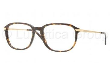Luxottica LU3209 Progressive Prescription Eyeglasses C543-5417 - Dark Havana Frame