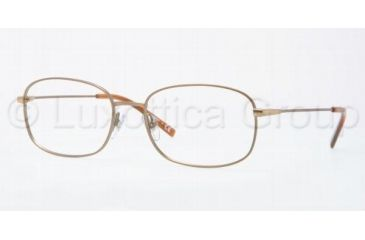 Luxottica LU6563 Progressive Prescription Eyeglasses 3065-5617 - Taupe