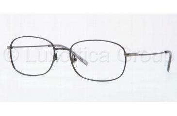 Luxottica LU6563 Progressive Prescription Eyeglasses 3080-5617 - Black