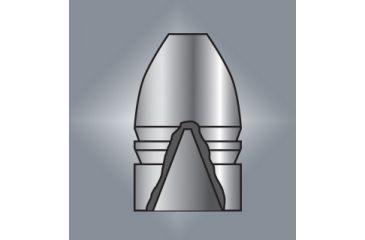 Lyman Black Powder Bullet Mould: .54 Caliber Minie Ball Hollow Base - #542622 2654622