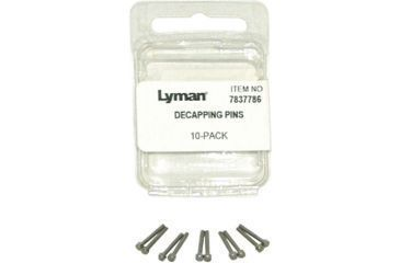 1-Lyman Decapping Pins - Pack of 10