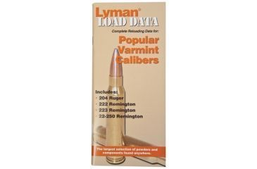 Lyman Load Data Book for 20, 22 Cal 9780008