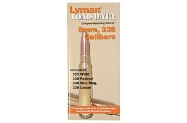 Lyman Load Data Book for 8mm, 338 9780018