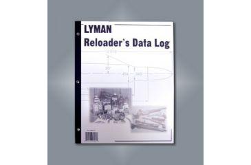 Lyman Reloading Data Log 9847261