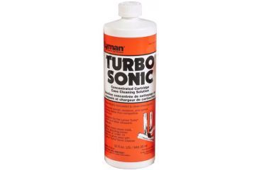 Lyman Turbo Sonic Case Cleaning Solution, 32 fl oz, 7631714