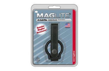 Mag ASXD046 Plain Leather Black Belt Holster for MagLite C-Cell Flashlight