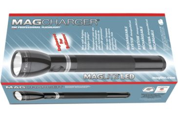 MagLite ML125 LED Rechargeable Flashlight w/ Charger and ...