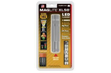 Mag Instrument XL 50 LED Flashlight Blister Pack, Gray S3096