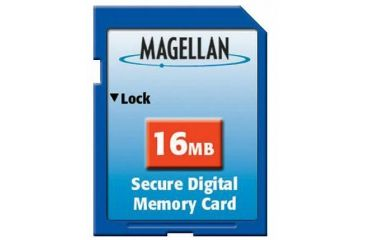 Magellan 16MB SD memory card - 980614-02