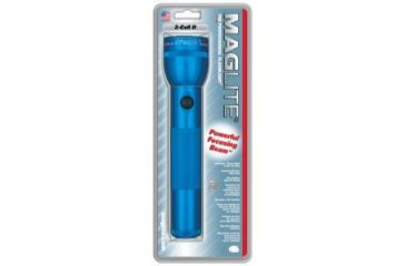 Mag Standard MagLite 2 D Cell Flashlight - Blue S2D116