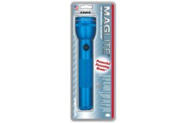 Mag Standard MagLite 2 D Cell Flashlight - Blue S2D116