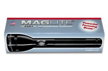 Mag Instrument MagLite ML 100 3-Cell Black LED Flashlight S3DX5- Display Box