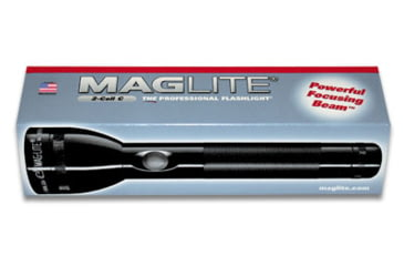 MagLite 4 C-Cell Heavy Duty Flash Light - Display Box Black S4C015
