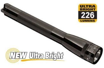 Maglite LED Mini Maglite 2-Cell AA Pro Flashlight, Presentation Box, Black SP2P017