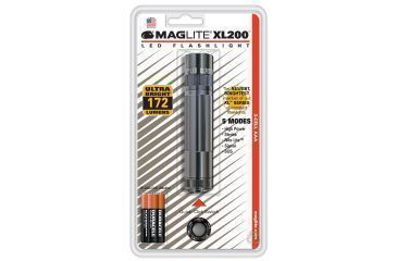 Maglite XL200 3-Cell LED Flash-Light, Black Blister Pack S3016