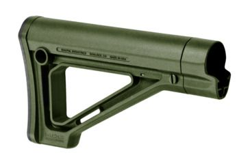 1-Magpul Industries MOE Fixed Carbine Stock - Commercial-Spec