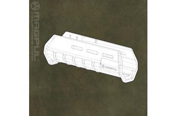 Magpul MOE Remington 870 Forend Flat Dark Earth MPIMAG462FDE
