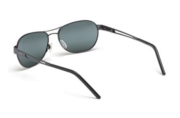 Maui Jim Mahina Sunglasses w/ Gunmetal Frame and Neutral Grey Lenses - 229-02, Back View