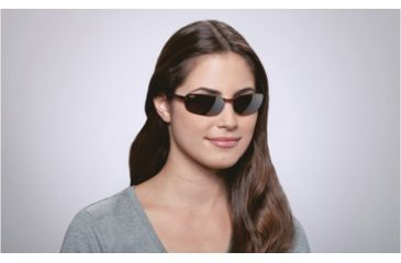 Maui Jim Makaha Sunglasses w/ Tortoise Frame and HCL Bronze Lenses - H405-10, On Model