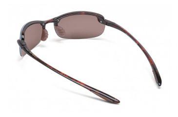 Maui Jim Makaha Sunglasses w/ Tortoise Frame and Maui Rose Lenses - R405-10, Back View