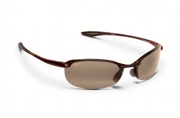Maui Jim Makaha Reader Sunglasses w/ Tortoise Frame and HCL Bronze 1.50 Magnification Lenses - H805-1015, Quarter View