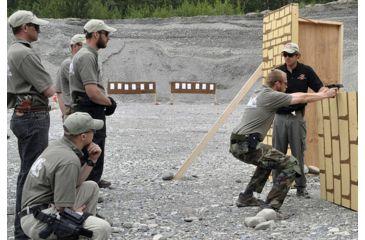 Mako Defense Israeli Hand Gun Training - behind cover