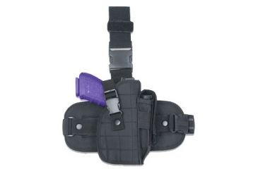 Global Military Gear Black Drop-Leg Holster