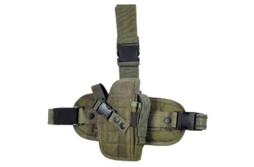 Global Military Gear Drop-Leg OD Green Holster