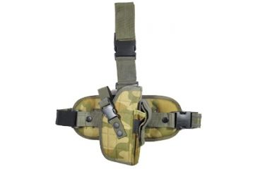 Global Military Gear Tactical Drop-Leg Woodland Camo Holster