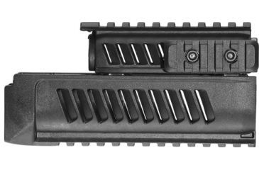 Mako Group Set of Lower and Upper Handguards for AK47/74 - Black AKLU