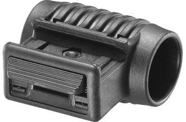 Mako Group Tactical 1inch Flashlight Side Mount - Black PLS