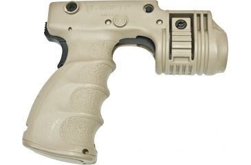 Mako Group Tactical ForeGrip & 1inch Light Mount w/ Rear Activation Switch - Desert Tan
