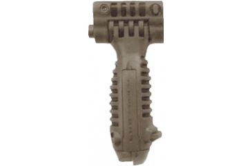 Mako Group Vertical Foregrip w/ Incorporated Bipod and Flash Light - Desert Tan
