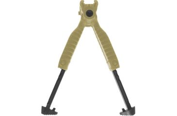 Mako Group Vertical Foregrip w/ Incorporated Bipod - Desert Tan