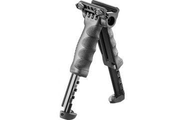 MakoTactical Vertical Foregrip w/Integrated Adjustable QR Bipod, Gen 2, Black T-PODG2QR