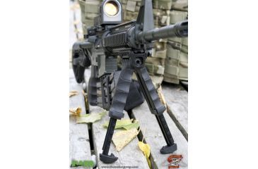 Mako T-PODG2QR Tactical Vertical Foregrip/Adjustable QR Bipod, Gen 2 - In Use