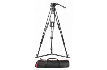 Manfrotto 546GBK and 501HDV Tripod System with Bag