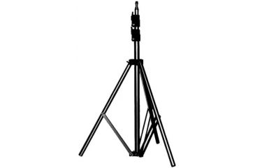 Manfrotto Bogen 6in Basic Black Light Stand, 5/8in Stud and 015 Top 366B