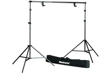 Manfrotto Black Background Support Kit-272B+2-052B+2-275+Bag 1314B