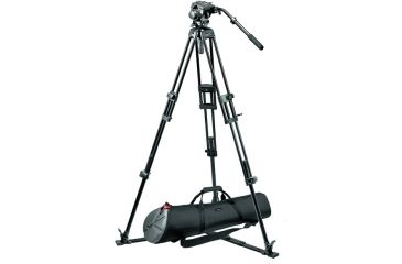 Manfrotto Bogen Manfrotto 519 Pro Fluid Video Head+525MVB Tripod+MBAG100P 519-525PKIT